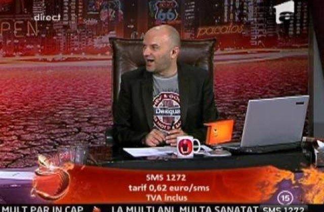 Amenda de 200.000 lei pentru Antena 1 din cauza emisiunii lui Capatos