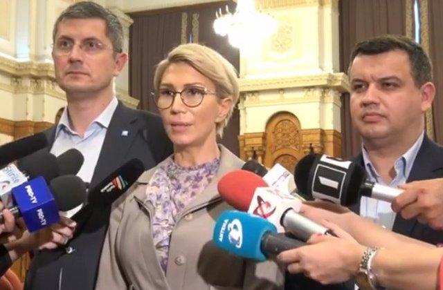 Raluca Turcan este propunerea comuna pentru sefia Camerei Deputatilor a PNL, PMP si USR