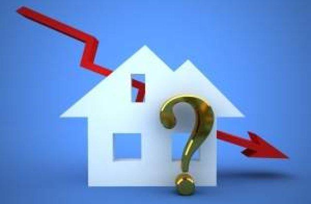 [VIDEO] Preturile locuintelor au scazut la cel mai mic nivel din ultimii 5 ani