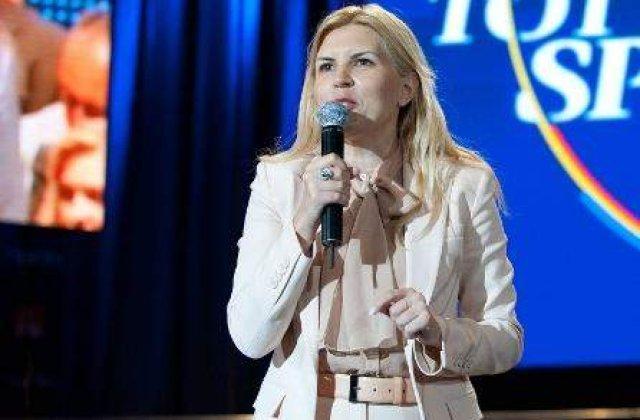 Elena Udrea: Marsaviile Antenei 3 trebuie sa inceteze