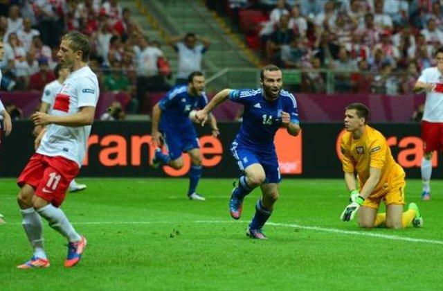 Polonia si Grecia au oferit un meci de senzatie in startul EURO 2012