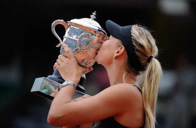 Sarapova, castigatoarea finalei feminine de la Roland Garros