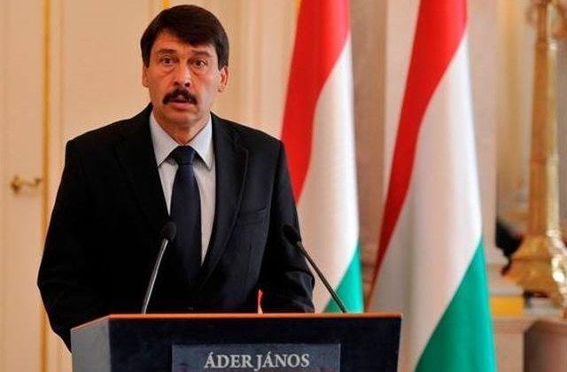 """Presedintele Ungariei, despre incidentul de la Valea Uzului: """"Blasfemiator, ilegal si imoral"""""""