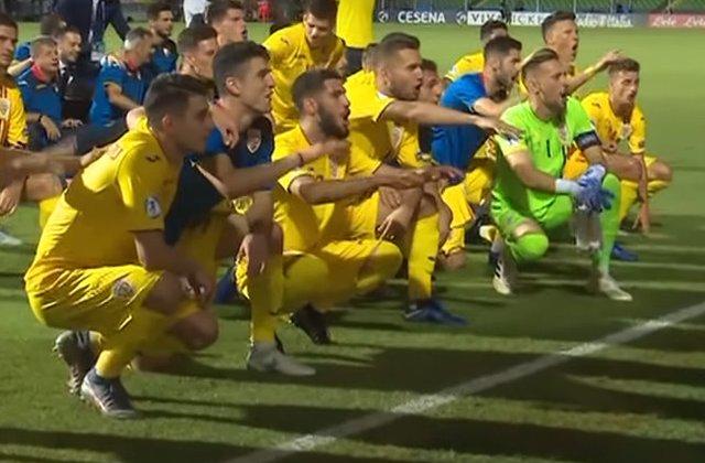 Romania s-a calificat in semifinalele Euro U21