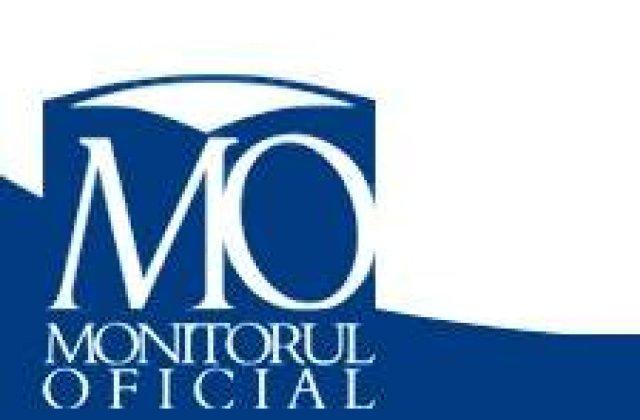 Monitorul Oficial, trecut in subordinea Guvernului