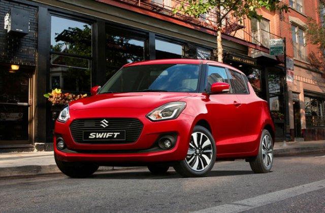 """Recall pentru Suzuki Swift in Romania: airbag-urile laterale se pot declansa la """"inchiderea mai puternica a portierelor spate"""""""