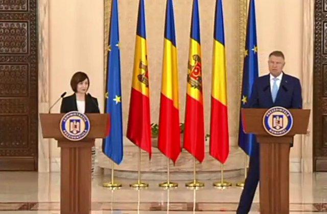 Iohannis, dupa intalnirea cu Maia Sandu: Romania este dispusa sa ofere asistenta dedicata consolidarii institutiilor din R. Moldova