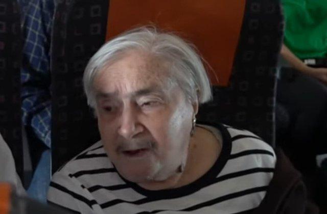 O pensionara a zburat pentru prima data cu avionul la 95 de ani/ VIDEO