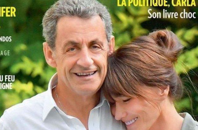 O fotografie a cuplului Sarkozy-Bruni, publicata de Paris Match, sursa de ironii si glume online