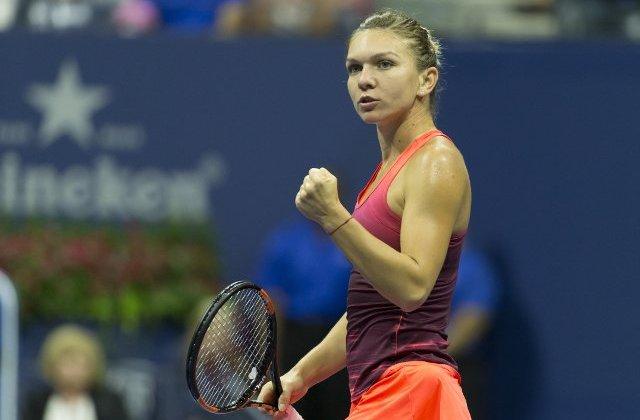 Simona Halep s-a calificat in optimi de finala la Wimbledon