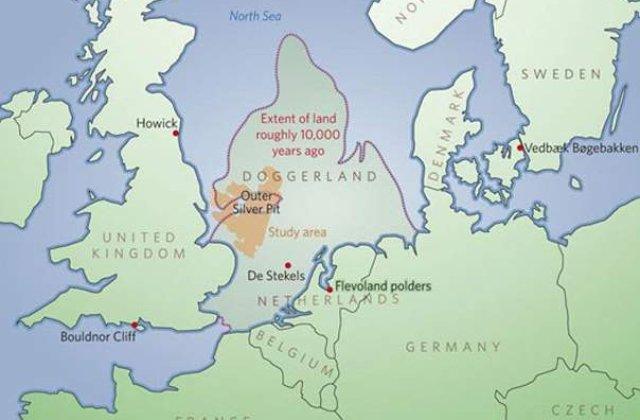 Tinutul scufundat Doggerland a fost descoperit de britanici