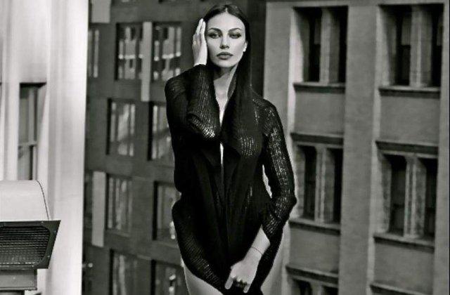 Madalina Ghenea, in rol de prostituata intr-un film italian