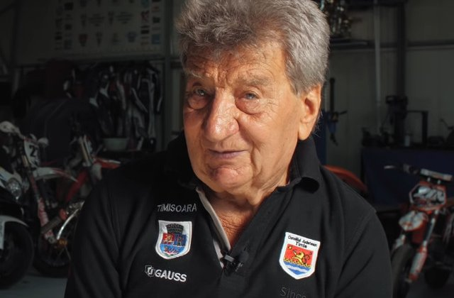 A murit Ionel Pascota senior, multiplu campion national si antrenor al lotului national de motociclism