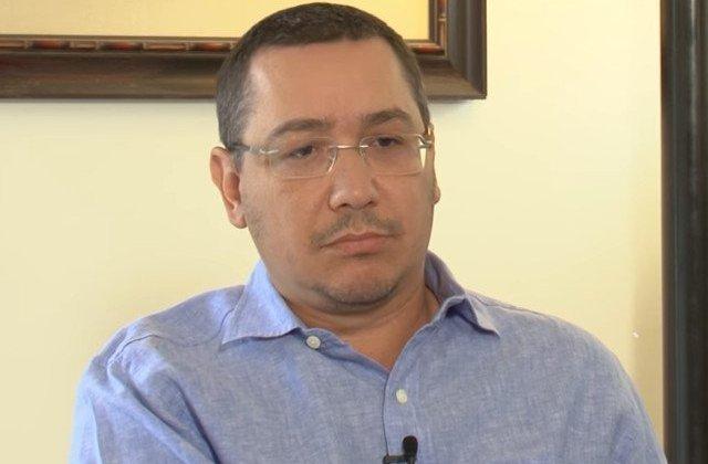 Ponta: Cei de la PSD se mint singuri si se sinucid. Cei de la PNL si USR se bat doar pe functii si candidaturi