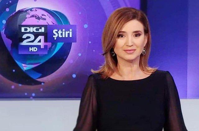 Jurnalista Sanda Nicola pleaca de la Digi24 dupa sapte ani