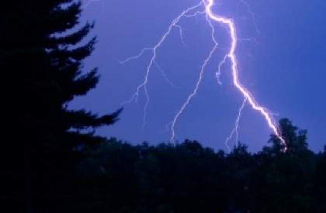 Avertizare de vreme severa pentru Bucuresti si alte judete