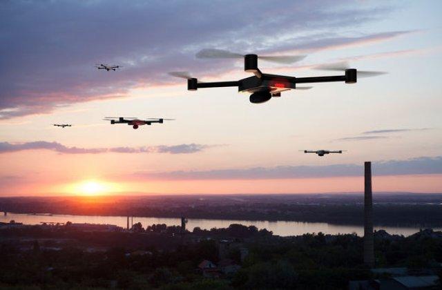 """Politia rutiera din Londra va folosi drone: """"Scopul este intimidarea soferilor agresivi si a celor care participa la curse ilegale de masini"""""""