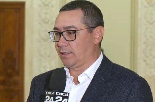 Ponta: Pot sa ma aliez cu cei de la ALDE, dar nu cat timp ei sunt la guvernare si eu, PRO Romania, sunt in opozitie