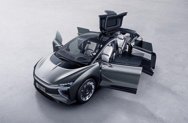 Un constructor chinez prezinta un SUV electric cu design inedit: HiPhi 1 are autonomie de 650 de kilometri