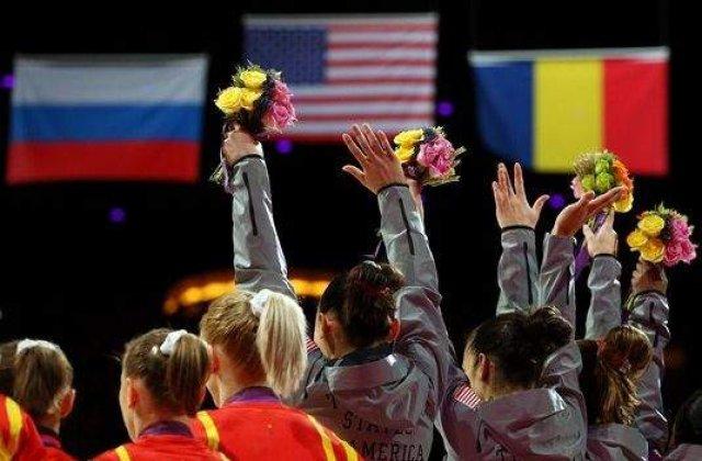 JO 2012 - Gimnastica artistica: Echipa Romaniei a castigat medalia de bronz