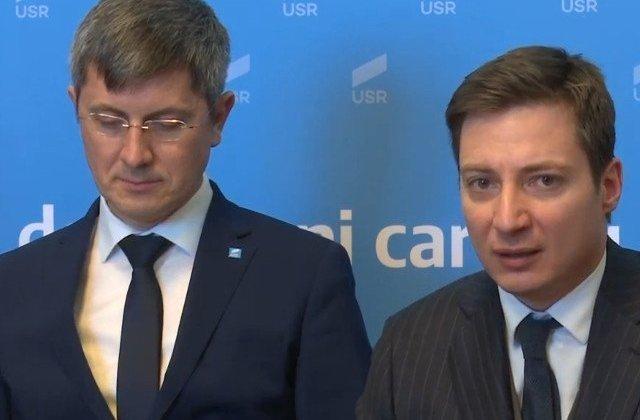Andrei Caramitru: Vedeti cate atacuri sunt la USR/PLUS in ultima vreme? E foarte bine. Pentru ca le e frica. Groaza