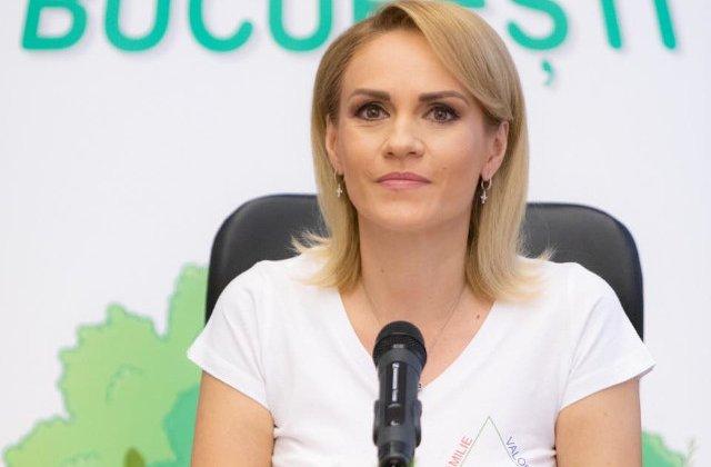"""Gabriela Firea cere opinia cetatenilor cu privire la proiectul """"Oxigen pentru Bucuresti"""""""