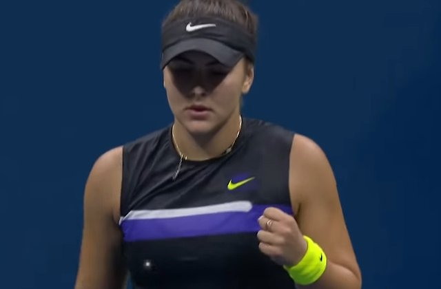 Bianca Andreescu s-a calificat in sferturi la US Open/ VIDEO