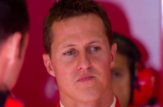 Michael Schumacher, internat intr-un spital din Paris