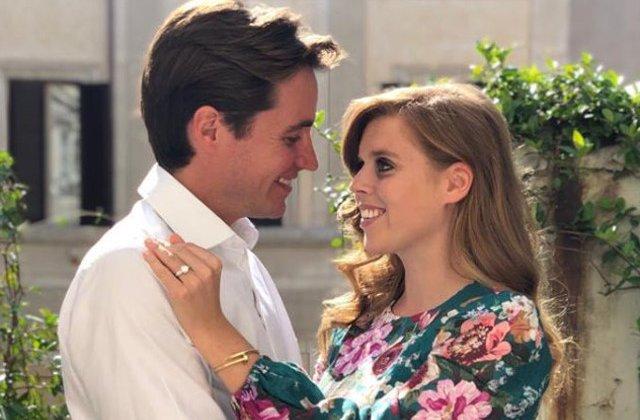 Printesa Beatrice s-a logodit cu Edoardo Mapelli Mozzi