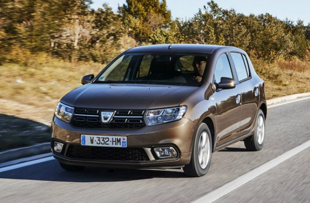 Inmatricularile Dacia au scazut in Franta cu 4.3% in primele noua luni ale anului: Sandero, locul 5 in topul celor mai inmatriculate modele