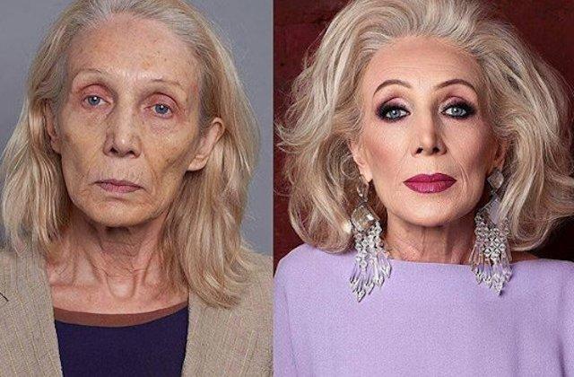 Inainte si dupa machiaj: 10+ transformari de exceptie ale unor femei, dupa o sedinta completa de make-up