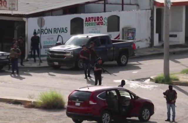 """Haos intr-un oras din Mexic, dupa ce narcotraficantii l-au eliberat pe unul din fiii lui """"El Chapo"""" / VIDEO"""