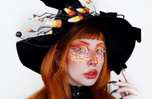 Make-up la nivel de arta: 20 de machiaje spectaculoase de Halloween