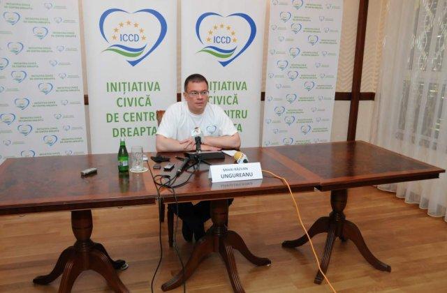 Ungureanu: Romania e mutilata, desfigurata, strambata si trebuie indreptata