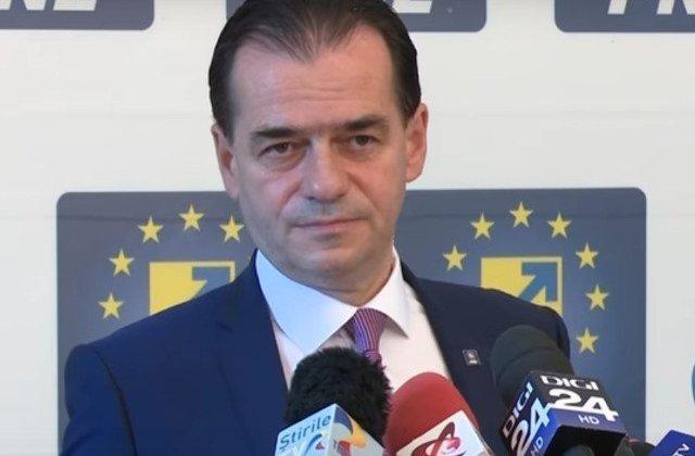 Ludovic Orban a anuntat ca va trimite doua propuneri pentru postul de comisar european