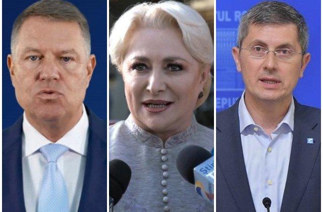 Alegeri prezidentiale 2019. Rezultate provizorii: Iohannis - 36,91%, Dancila - 23,45%, Barna - 14,19%