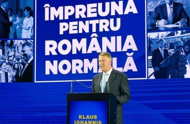 Iohannis: Nu aveati cum sa nu observati campania PSD. Ati observat cum isi arata fata urata, ca sa nu spun altceva