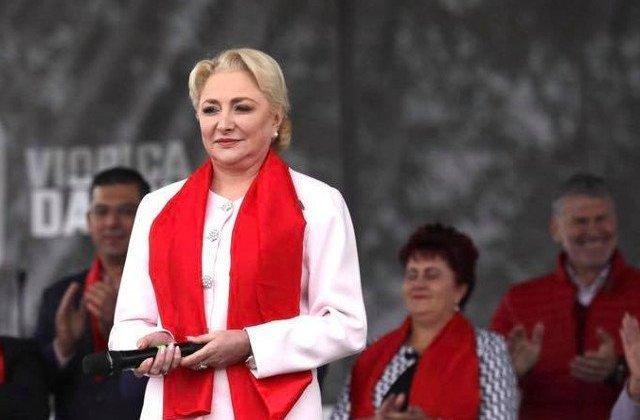 Viorica Dancila: Rusine, Klaus Iohannis! Ne priviti de sus, dar sunteti jos si sunteti mic