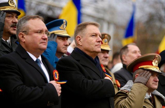 Iohannis: Ziua Nationala - cea mai emotionanta sarbatoare a natiunii noastre, un simbol al libertatii