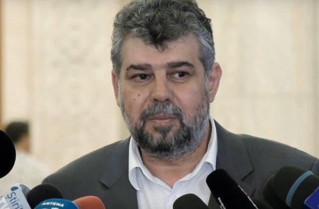 Ciolacu: Nu excludem depunerea unei motiuni de cenzura pana la finele anului impotriva Guvernului Orban