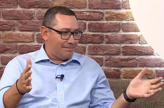 "Ponta: ""Nici nu se pune problema sa ne ducem la remorca PSD"""