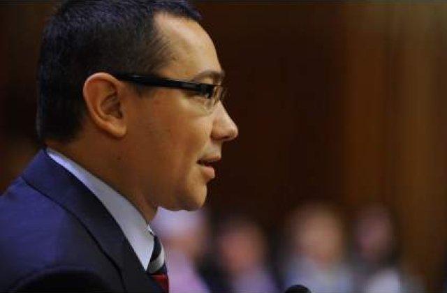 Ponta, catre ministri: Aveti grija cu cheltuielile, alta rectificare nu va mai fi!