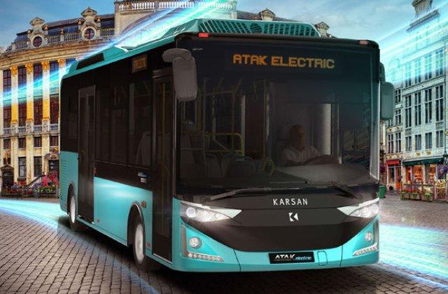Dej va cumpara 20 de autobuze electrice pentru transportul public: primele unitati vor fi livrate in primavara
