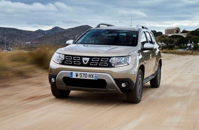 Dacia Duster, locul trei in topul celor mai inmatriculate modele in Italia in 2019: aproape 43.000 de unitati