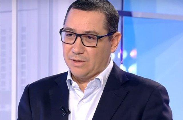 Ponta, despre PNL: Nu ii intereseaza decat sa castige alegerile si sa isi vada de treburile lor personale