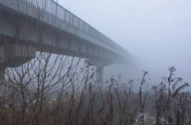 Avertizare de ceata in opt judete din nordul si estul tarii