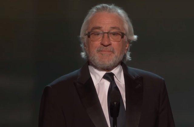 Robert de Niro recompensat pentru intrega cariera in cadrul SAG Awards / VIDEO