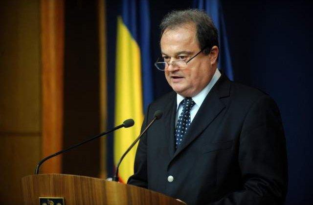 Consiliul European: Blaga nu e de acord cu organizarea unei sedinte a plenului reunit