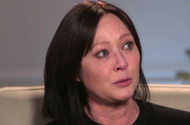 Shannen Doherty diagnosticata cu cancer stadiul patru / VIDEO