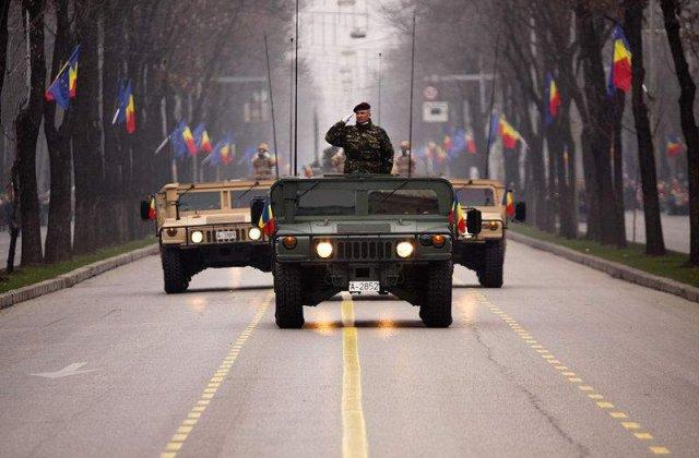200.000 de lei in plus pentru parada militara din Bucuresti de 1 Decembrie